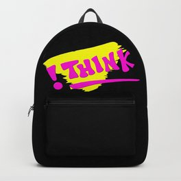 !THINK   Apparel and Products Backpack