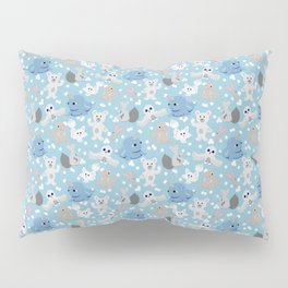 Snowball fight!!! Pillow Sham