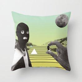 POP ART / DADA Throw Pillow