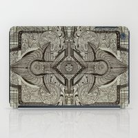 chakra iPad Cases featuring Second Chakra by Work the Angle