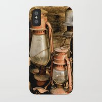 lanterns iPhone & iPod Cases featuring lanterns by Lisa Carpenter