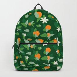 Orange Blossoms - Pattern Backpack