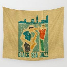 Black Sea Jazz Wall Tapestry