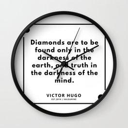 54    Victor Hugo Quotes   190830 Wall Clock