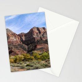 Zion Canyon - Utah Stationery Cards