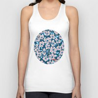 cherry blossom Tank Tops featuring Cherry Blossom by Alannah Brid