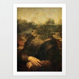 La Jaconde Art Print