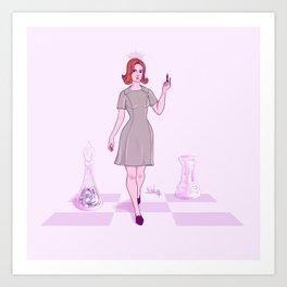 Chess Queen Art Print