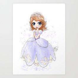 Princesse Sofia • Sofia the First • ちいさなプリンセス ソフィア Art Print