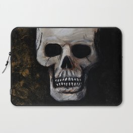 October Skull Laptop Sleeve