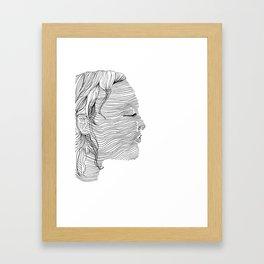Linearity Framed Art Print