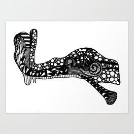 Sound Passage - The Ear Art Print