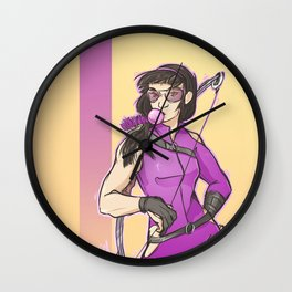 Bubble Gum Kate Wall Clock