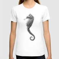 seahorse T-shirts featuring Seahorse by Hermes_GC