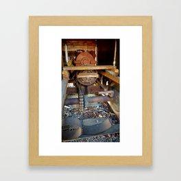 Engine Lost Framed Art Print