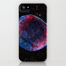 1173. Hubble Sees Stars and a Stripe in Celestial Fireworks iPhone Case