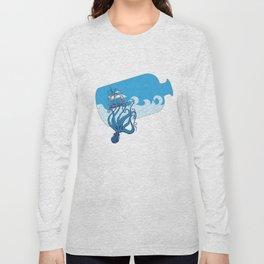 Octo-ship ahoy! Long Sleeve T-shirt