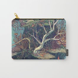 Coral Communities Carry-All Pouch