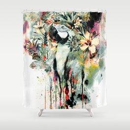 Interpretation of a dream - Parrot Shower Curtain