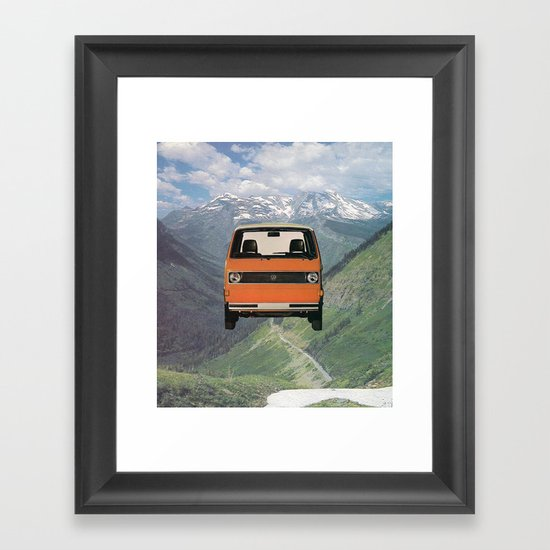 Car Ma Ged Don Framed Art Print
