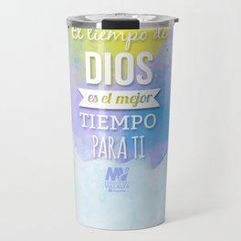 El Tiempo de Dios  Travel Mug