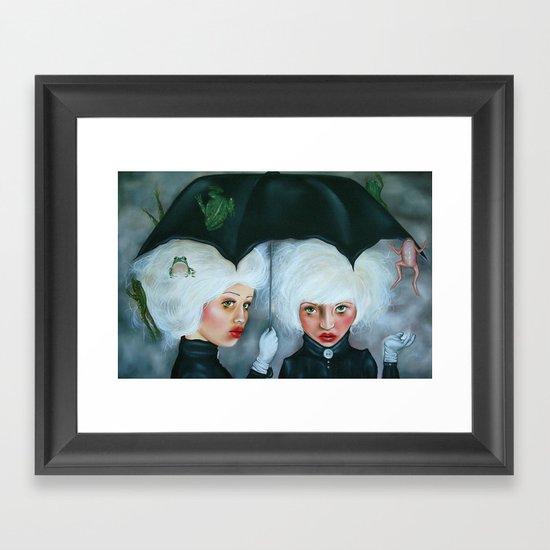 Heavy Enough to Fall Framed Art Print