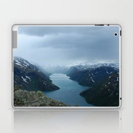 Down the Fjord Laptop & iPad Skin