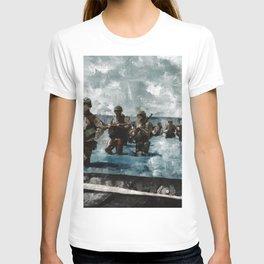 D Day Landings,WWII T-shirt