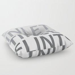 Silent Listen Floor Pillow