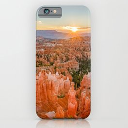 Bryce Canyon Sunrise Utah National Park Southwest USA Landscape iPhone Case