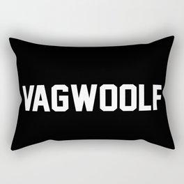 VagWoolf2 Rectangular Pillow