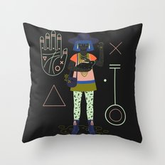 Witch Series: Palm Reader Throw Pillow