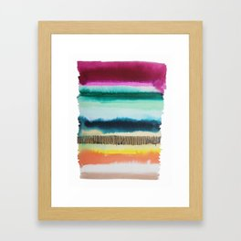 Color Me Hapy seried Framed Art Print