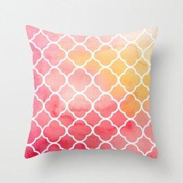 Oriental pattern Throw Pillow