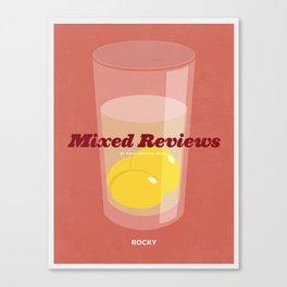 Mixed Reviews - Rocky Canvas Print