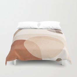 Abstract Minimal Shapes 16 Duvet Cover