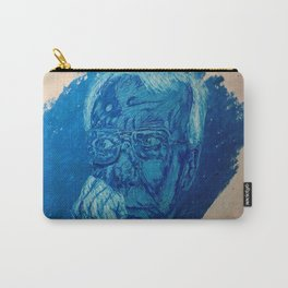 Blue man Carry-All Pouch