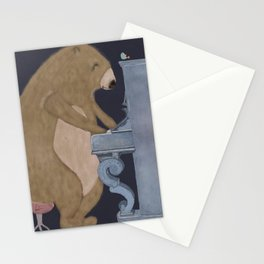 boogie bear Stationery Cards