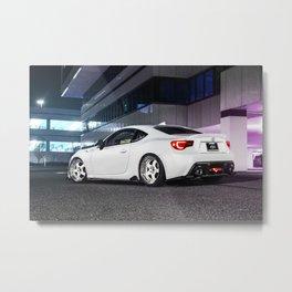 White on white FRS Metal Print