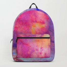 pink tie dye Backpack