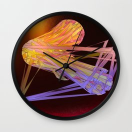 Tension Workout Wall Clock