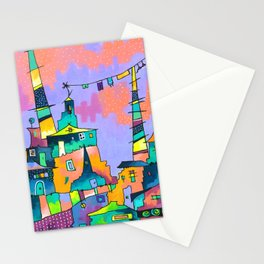 Ladders in the Sky Stationery Cards