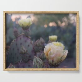 Cactus Flower Series: Pink Sunset Serving Tray