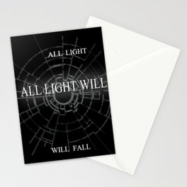 ALL LIGHT WILL FALL Lineage Design  Stationery Cards