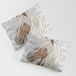 Haflinger Horse Pillow Sham
