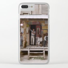 Vintage Country Store USA - Circa 1939 Clear iPhone Case