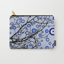 Evil Eye Tree Carry-All Pouch