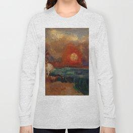 "Odilon Redon ""Saint George and the Dragon (Saint Georges et le dragon)"" Long Sleeve T-shirt"