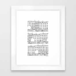 blocks of Brooklyn Framed Art Print