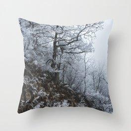 Blizzard // #TravelSeries Throw Pillow